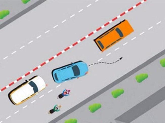 Ô tô vượt phải thế nào cho đúng?