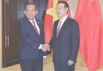 Phó Thủ tướng Trương Hòa Bình hội kiến Phó Thủ tướng TQ
