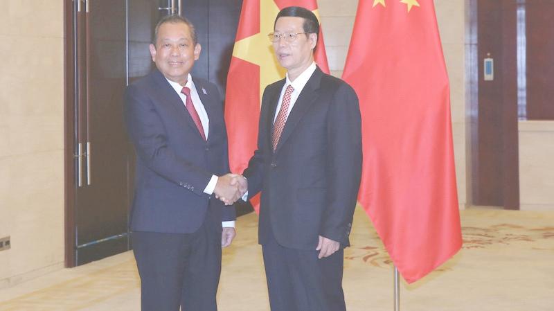 Phó Thủ tướng Trương Hòa Bình, Trương Hòa Bình, Trung Quốc, Tập Cận Bình