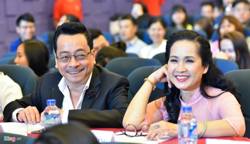 'Mẹ chồng' Lan Hương tái ngộ 'ông trùm' Hoàng Dũng