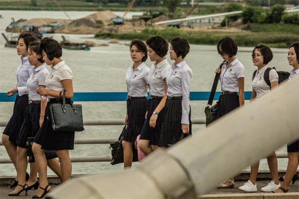 Những hình ảnh góc khuất đời sống ở Triều Tiên