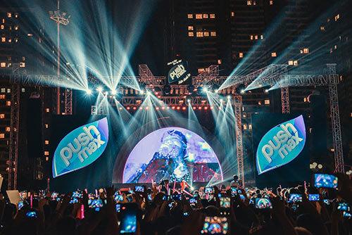 15000 teen Hà thành 'quậy tưng' đêm nhạc Pushmax