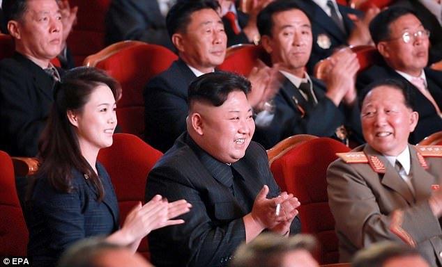 Triều Tiên, bom H, tiệc chiêu đãi