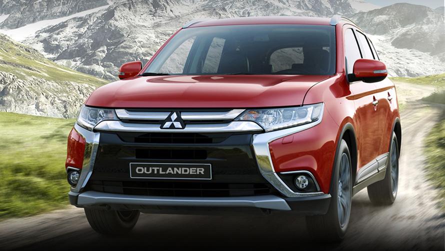 Mitsubishi Outlande, ô tô Mitsubishi, ô tô nhập khẩu, ô tô Nhật, SUV, ô tô giá rẻ, ô tô giảm giá