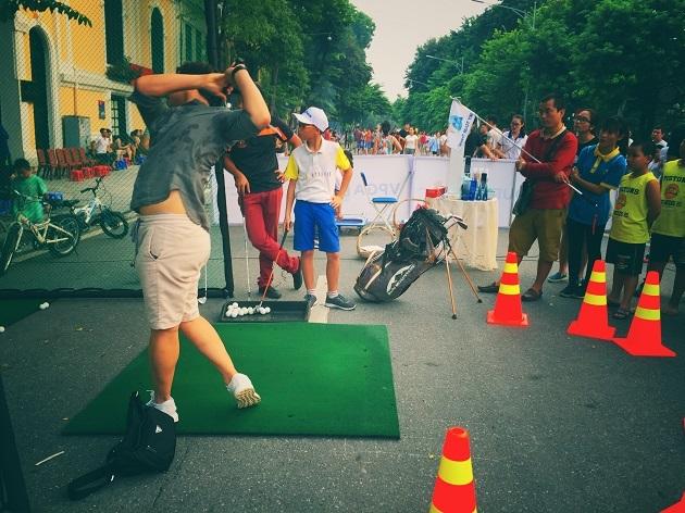 Tuyển thủ Golf dự SEA Games đồng hành cùng VPGA TOUR