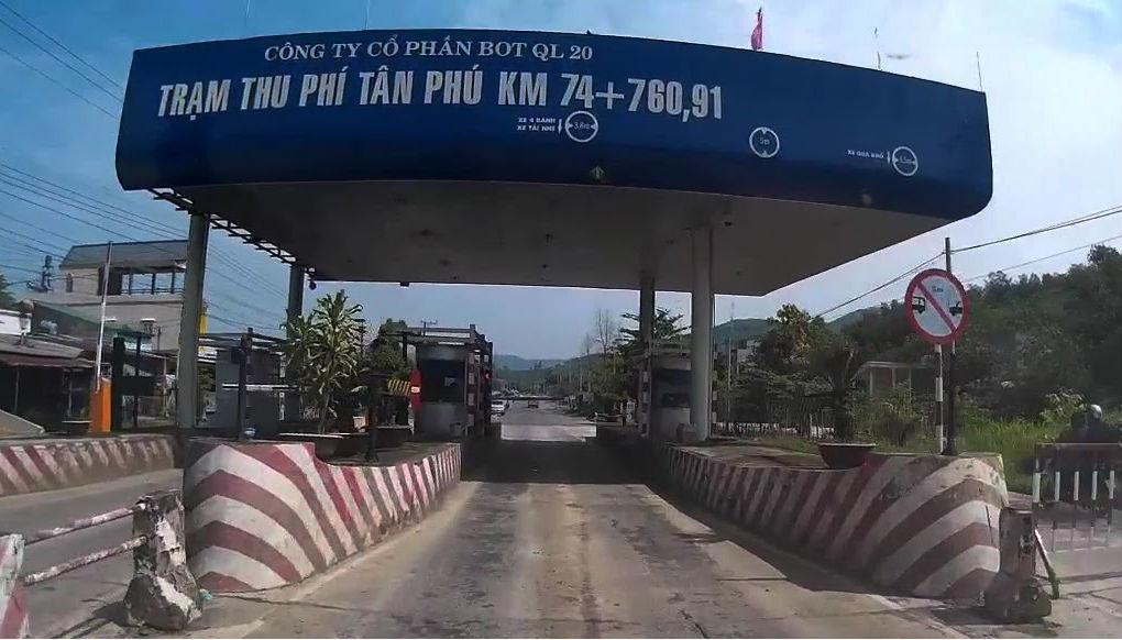 trạm thu phí Biên Hòa,BOT Biên Hòa,phí đường bộ,BOT