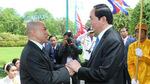 Quốc vương Campuchia gửi thư mừng tới Chủ tịch nước