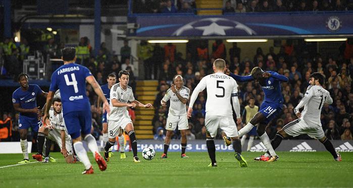 Chelsea, Qarabag, Vòng bảng Cup C1