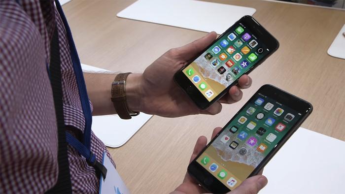 """Video trải nghiệm iPhone 8/8 Plus, hàng """"khủng"""" không kém iPhone X"""