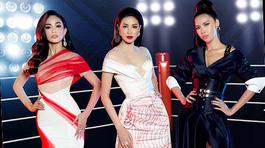 Phạm Hương, Minh Tú, Mâu Thủy đối đầu kịch liệt trong show thời trang