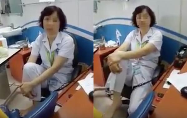 Bệnh viện Mắt trung ương, gác chân lên ghế, bác sĩ, cận thị