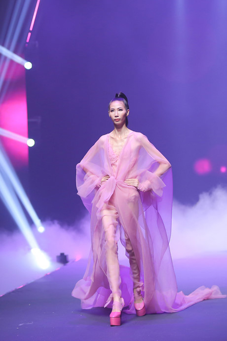 Cao Ngân, Vietnam's Next Top Model 2017
