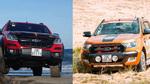 Phân khúc xe bán tải - Sự thống trị của những thương hiệu Mỹ