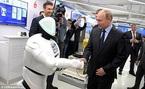 Ông Putin bị người máy nhận diện giữa đám đông