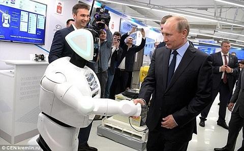 Putin, người máy, Nga
