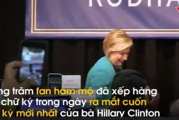 Ra sách về thất bại tranh cử, bà Hillary kiếm bộn tiền