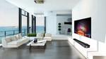 4 xu hướng nội thất hiện đại với TV OLED siêu mỏng