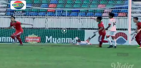 U18 Indonesia 8-0 U18 Brunei