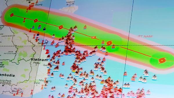 tin bão mới nhất, cơn bão số 10, bão số 10, bão DOKSURI