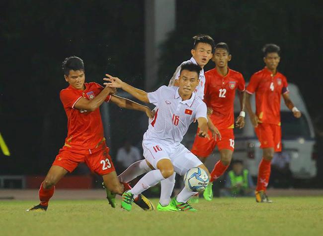 u18 việt nam,bầu Đức,Hoàng Anh Tuấn,U18 Đông Nam Á