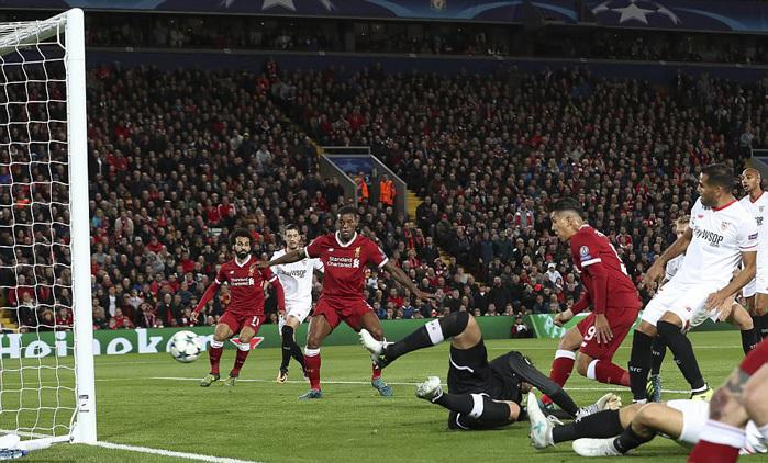 Liverpool bị Sevilla cầm hòa tiếc nuối trên sân nhà