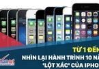 Từ iPhone đầu tiên đến iPhone X: Hành trình 10 năm 'lột xác'