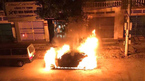 Mercedes tiền tỉ bốc cháy trơ khung