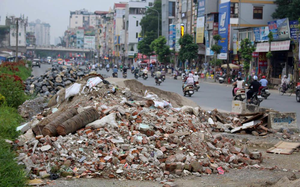 ô nhiễm môi trường, rác thải, Hà Nội