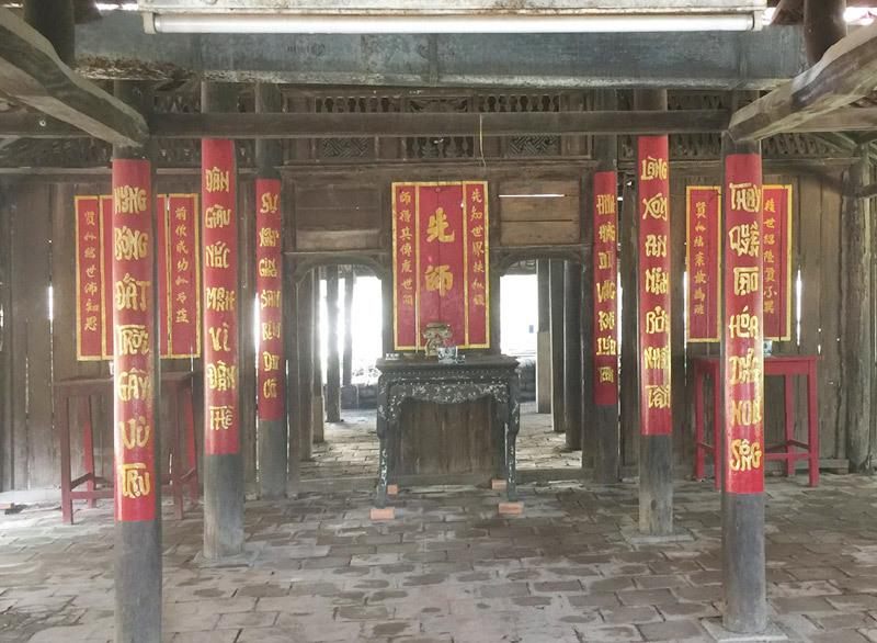 Đình Thông Tây Hội, Di tích lịch sử
