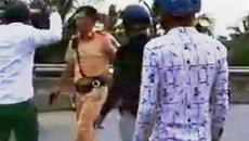 CSGT ở miền Tây rút súng xử lý vi phạm giao thông