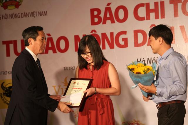 Phóng viên VietNamNet đạt giải nhì viết về Tự hào Nông dân Việt - ảnh 2