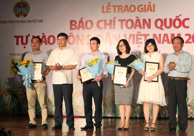 Phóng viên VietNamNet đạt giải nhì viết về 'Tự hào Nông dân Việt'