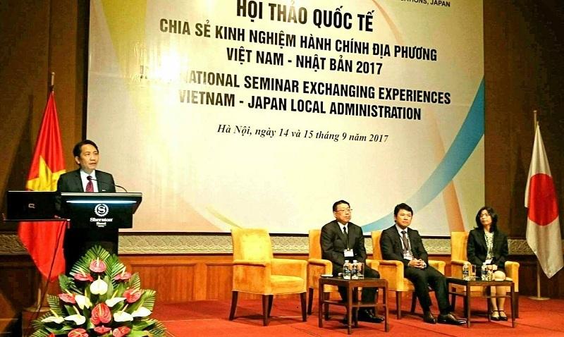 Nhật đào tạo 800 tiến sĩ giúp Việt Nam cải cách hành chính