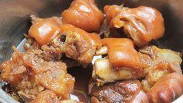 Món ngon từ thịt chân giò bổ dưỡng