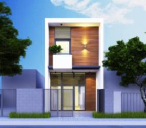thiết kế nhà phố, nhà phố, nhà 2 tầng, thiết kế, nội thất, không gian sống