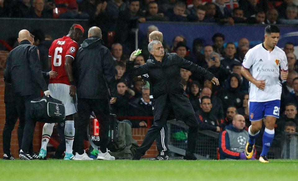 Mourinho điên tiết vì Pogba dám cưỡng lệnh