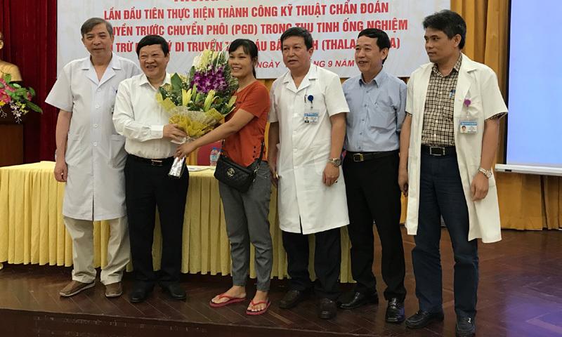 Thai phụ hết ám ảnh vì truyền bệnh máu cho con