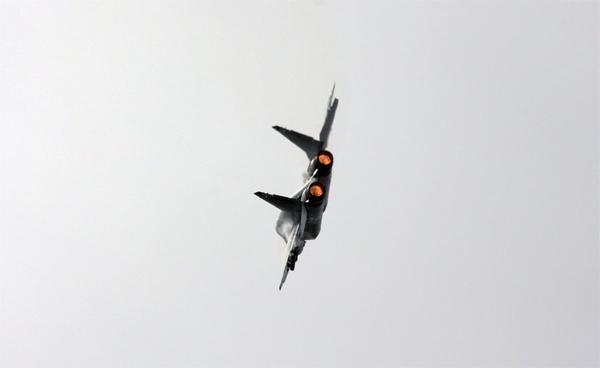 Cận cảnh tiêm kích huyền thoại Nga vừa điều tới Syria
