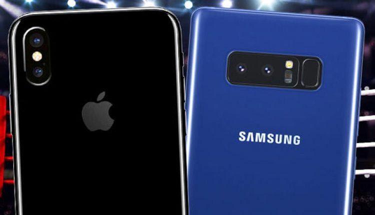 Galaxy Note 8 tỉ thí iPhone X, đại chiến giữa các 'siêu phẩm' 1.000USD