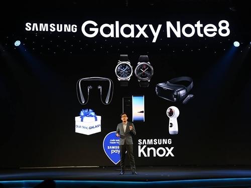 Galaxy Note8: màn trình diễn công nghệ ấn tượng tại Việt Nam