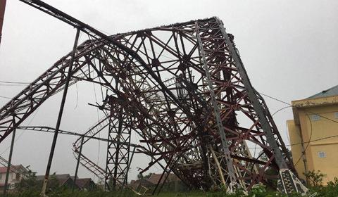 đổ tháp TH