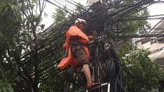Bão số 10 đổ bộ, FPT đứt cáp trục Bắc Nam khách hàng mất kết nối Internet