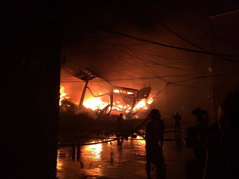 hỏa hoạn, cháy, cháy siêu thị, Hà Nội