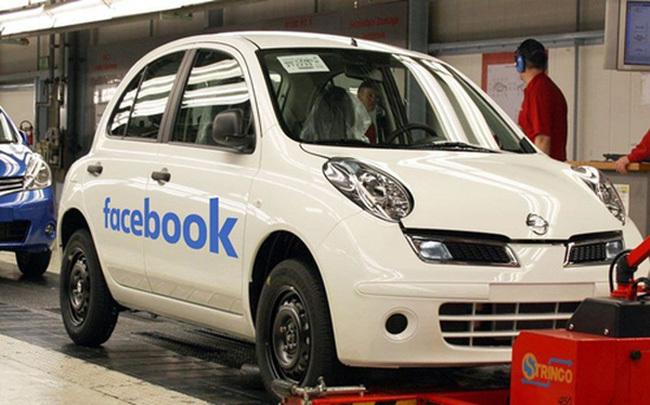Facebook gia nhập 'cuộc chơi' ô tô
