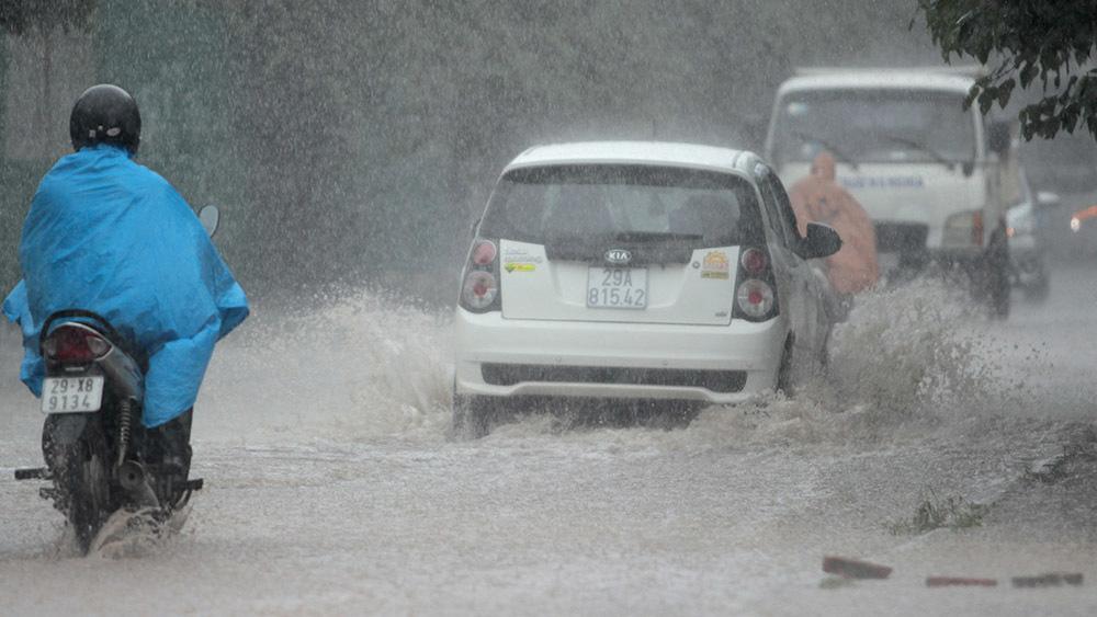 ngập nước, Hà Nội