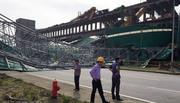 Siêu bão đánh sập kho than nhà máy nhiệt điện Formosa