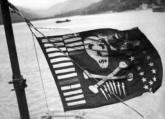 tàu ngầm, cướp biển, hải quân,Thế chiến II