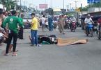 Cán chết thanh niên chạy Grabbike, tài xế container bỏ chạy