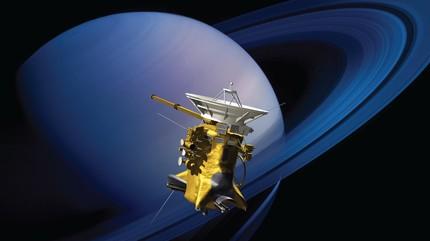 Tàu Cassini vẫn làm nhiệm vụ tới giây phút cuối cùng