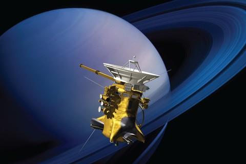 Tàu Cassini của NASA đâm xuống sao Thổ